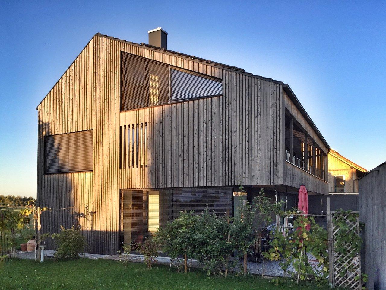 Holzfassaden Schone Optik Gute Warmedammung Erich Wober Gmbh